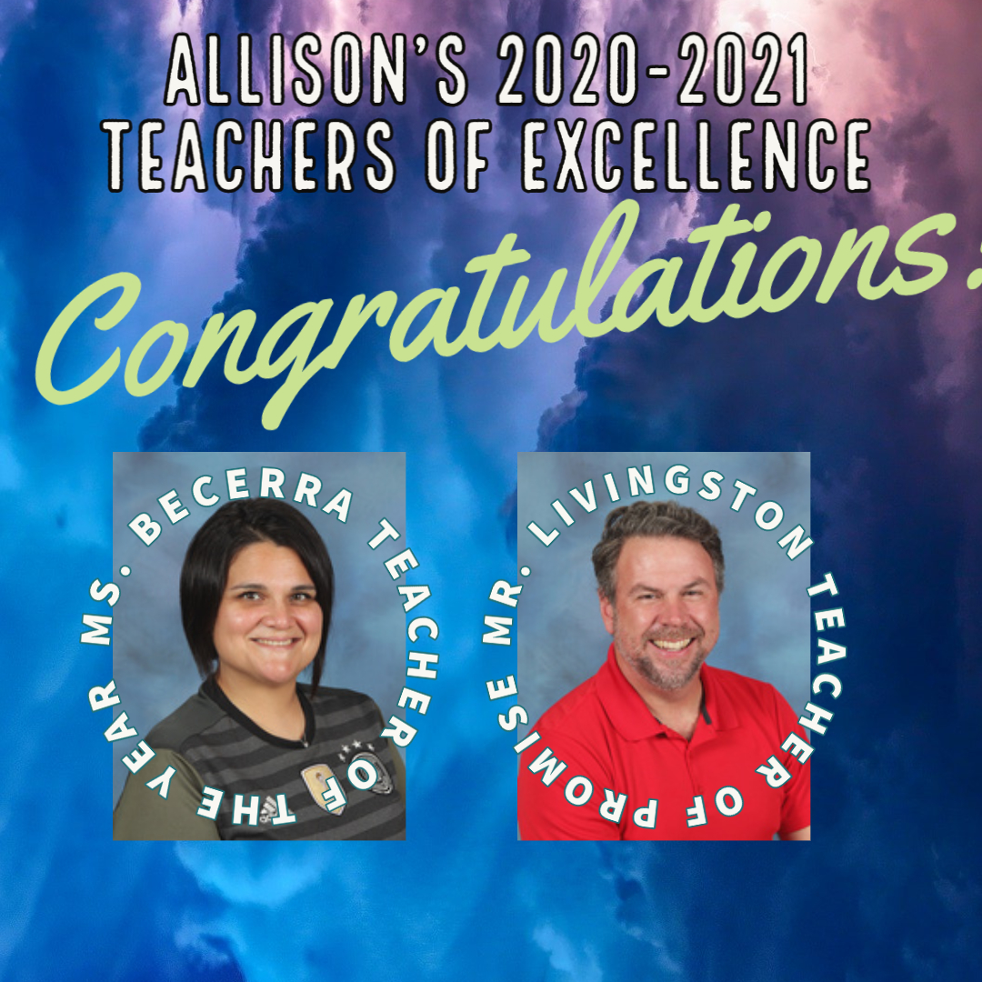 2020-2021 teachers of excellence